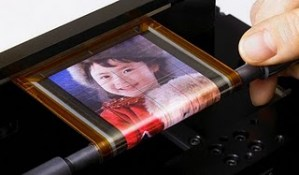 sony oled paper display