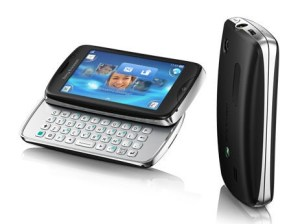 Sony Ericsson txt Pro Specifications