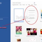 Open Wordpress Microsoft Word 2013