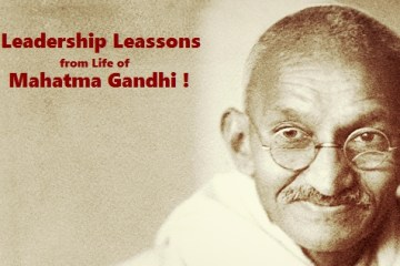 leadership lessons from mahatma gandhi