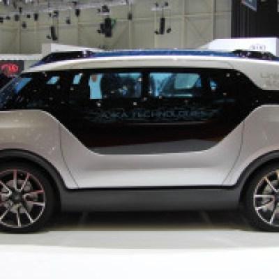 The self driving car by AKKA Tech