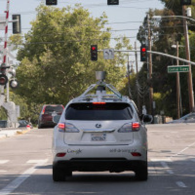 Google's Lexus undergoing tests on city roads