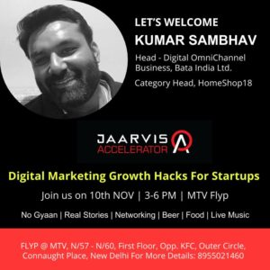 Jaarvis Accelerator Presents Digital Marketing Growth Hacks