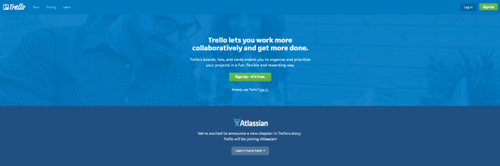 collaboration tools trello