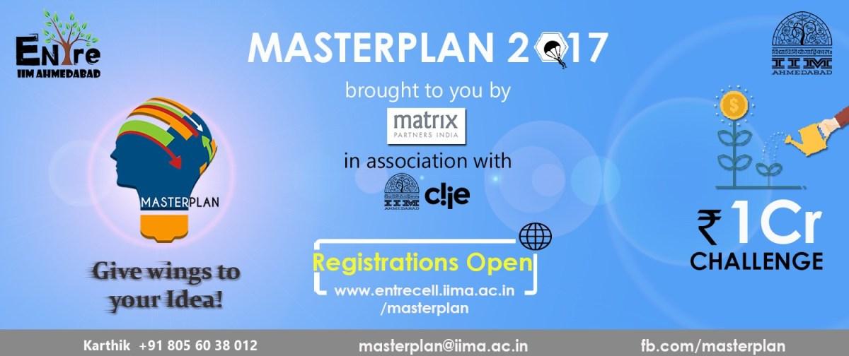 iim ahmedabad matrix partners organize masterplan 2017