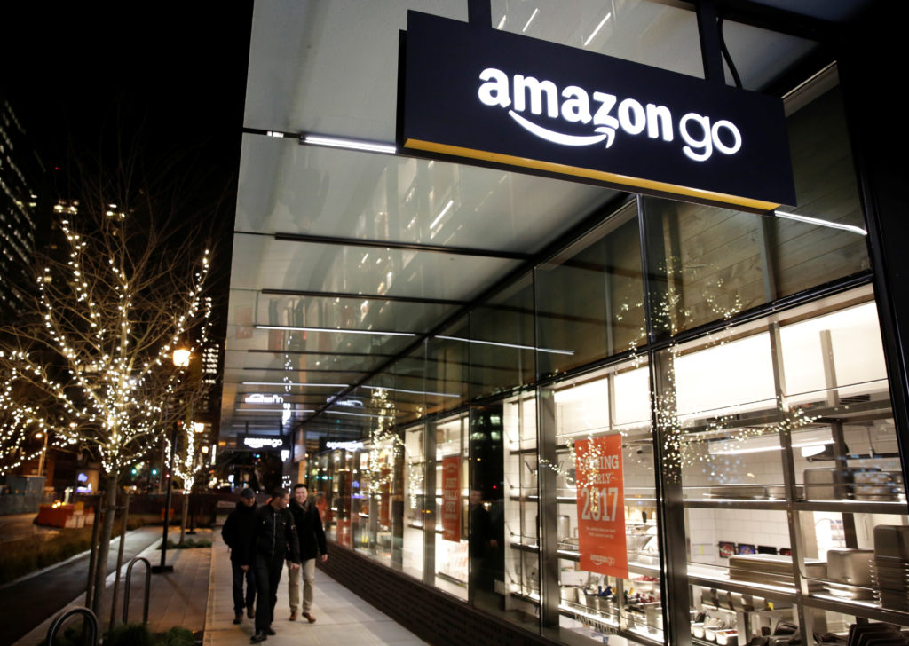amazon go reinventing grocery shopping experience