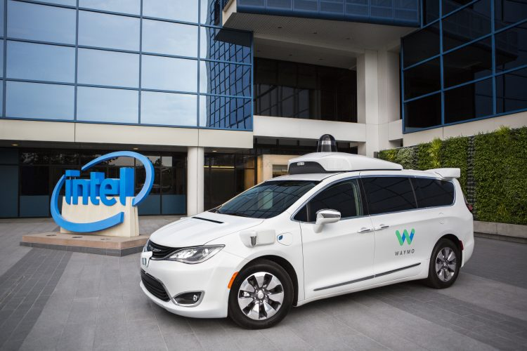Intel waymo self driving cars
