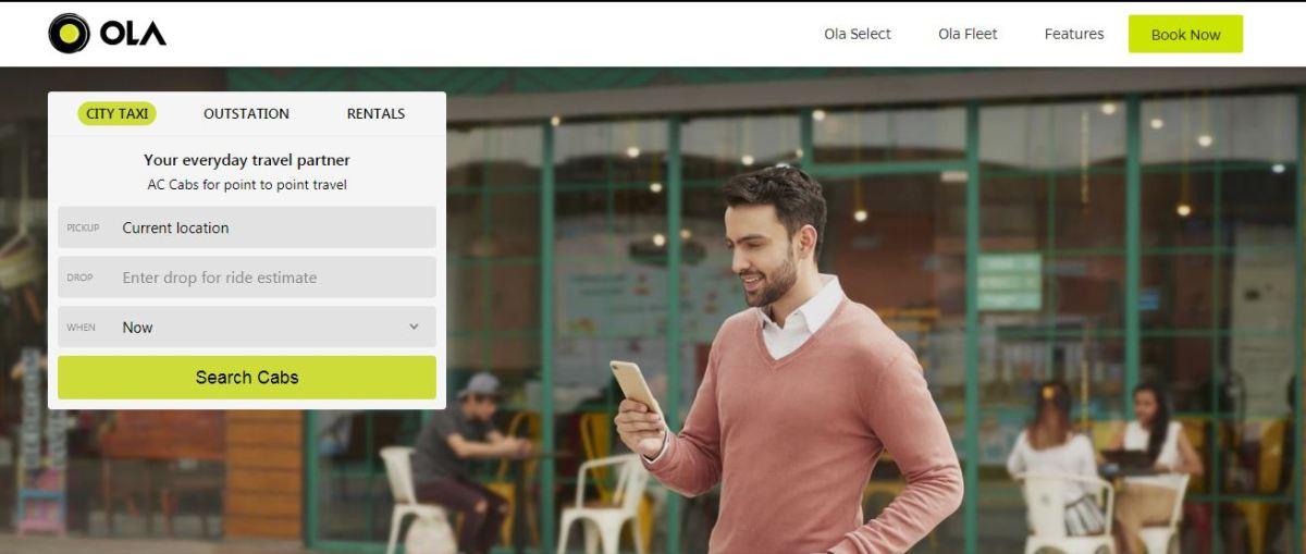 ola raises funding from tencent softbank