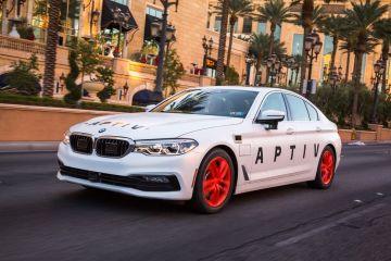 Lyft autonomous BMW