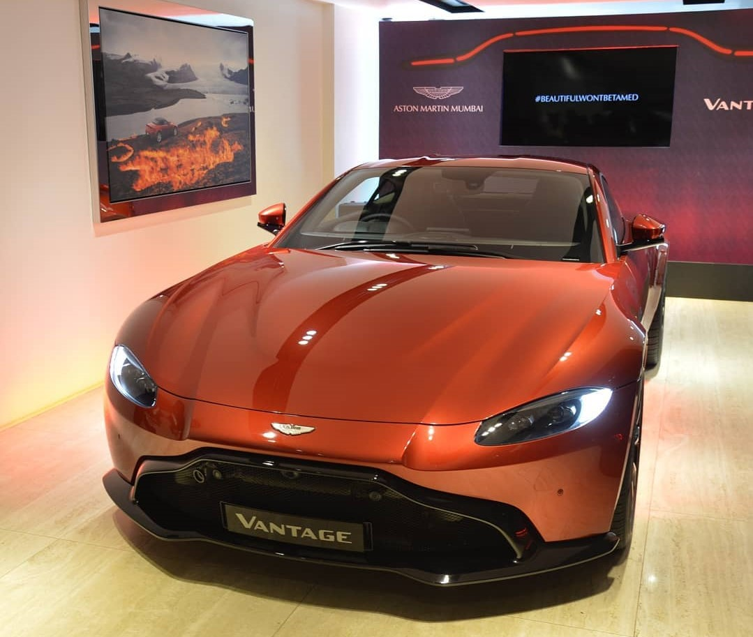 2019 Aston Martin Vantage Launched In India At 2 95 Crore Techstory