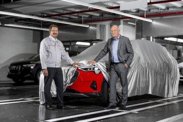 Audi E-Tron Production