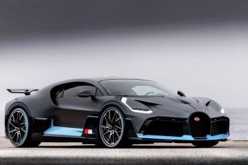 Bugatti Hybrid engine