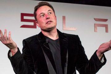 Elon Musk Tesla chairman resign