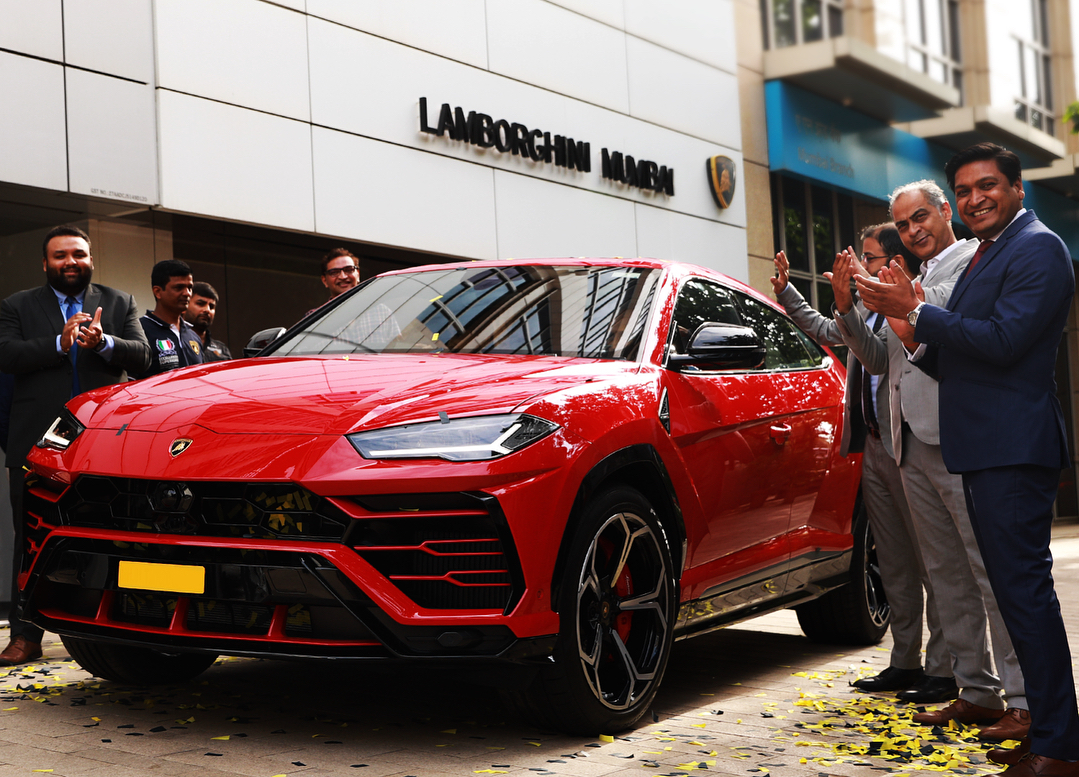 Lamborghini urus India delivery