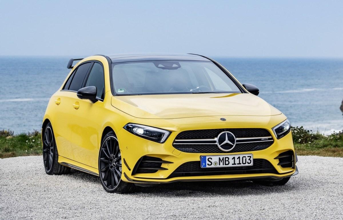 Mercedes-AMG A35 launch