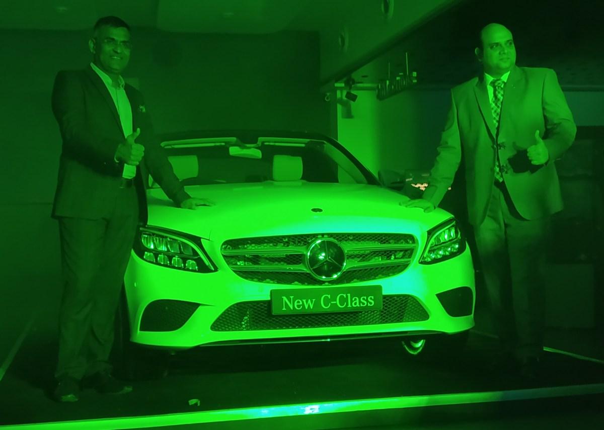 Mercedes-Benz C-Class launch ahmedabad