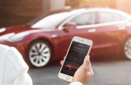 Tesla Mobile app car steal
