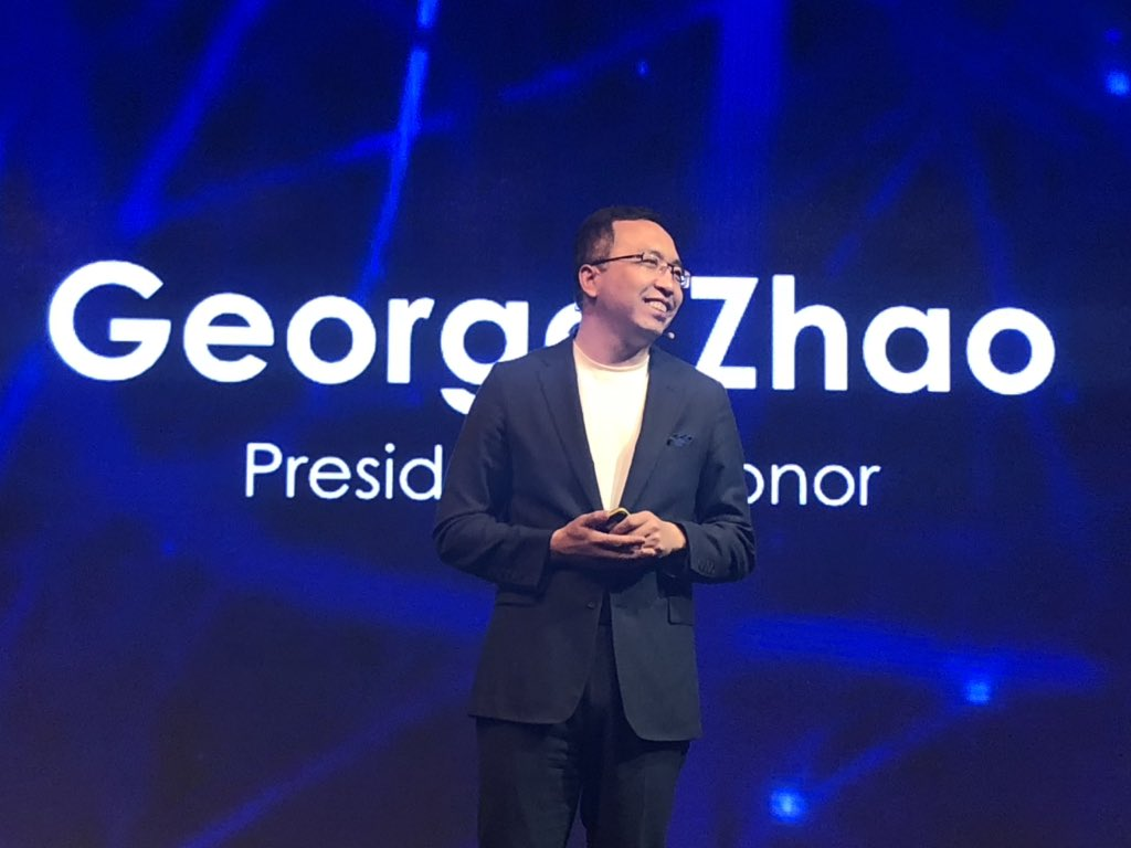 President of Honor Global - George Zhao