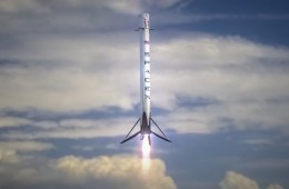 SpaceX successfully landed its Falcon 9 rocket on the California coast!!
