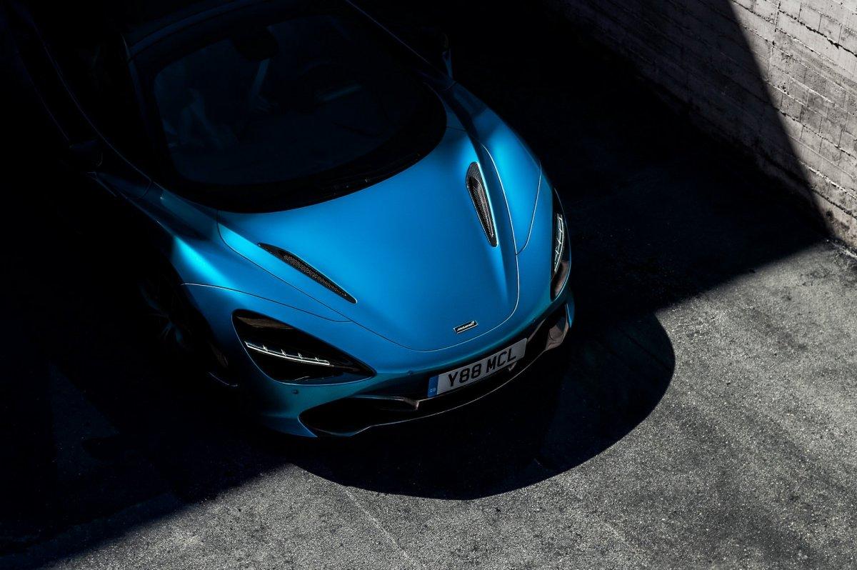 McLaren 720S Spider teaser