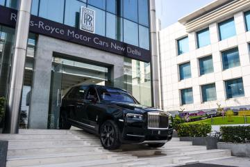 Rolls-Royce Cullinan India launch