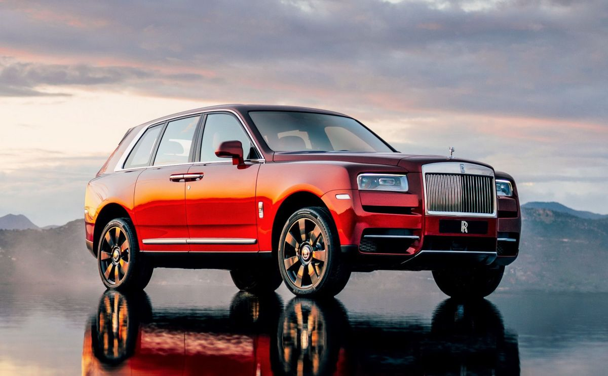 Rolls Royce Cullinan India price