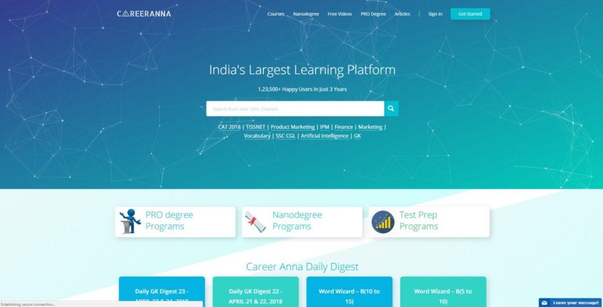 Career Anna raises Rs 4 crores