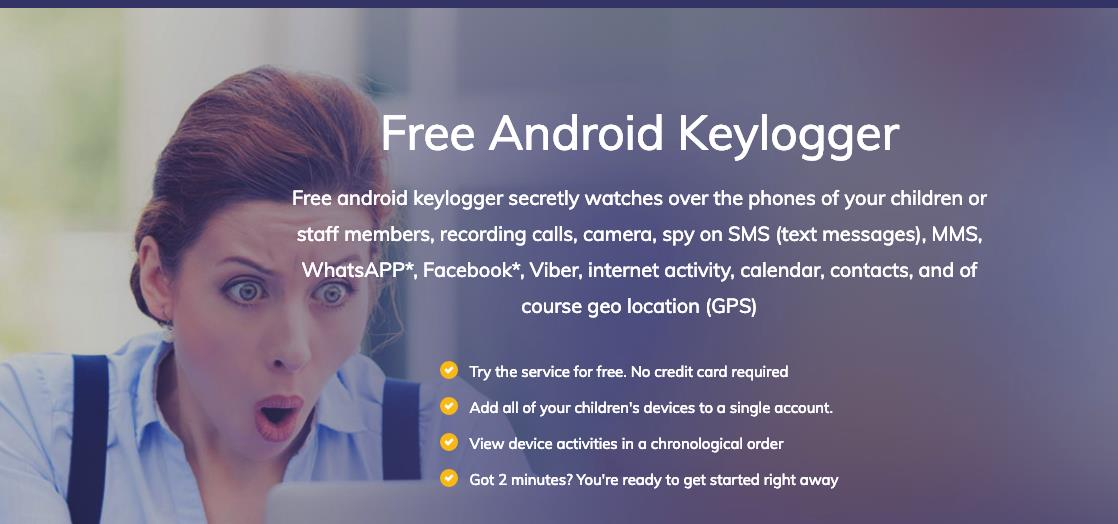 How to monitor a child using a free keylogger for Android