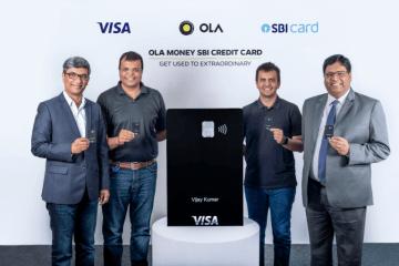 From Left to right, TR Ramachandran, Nitin Gupta, Bhavish Aggarwal and Hardayal Prasad