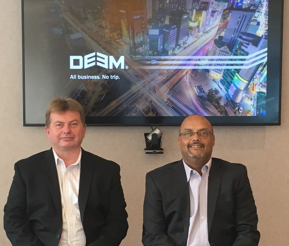 Neil Markey, CIO & SVP Product, Deem and Ramesh Kalanje, VP and GM, Deem