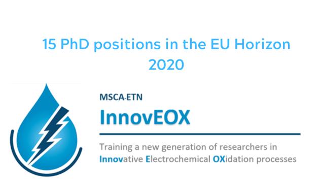 15 PhD positions in the EU Horizon 2020