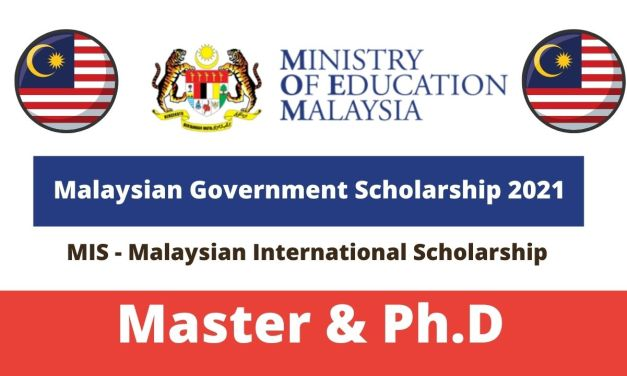 Malaysian Government Scholarship 2021 For Master & PhD [Fully Funded]