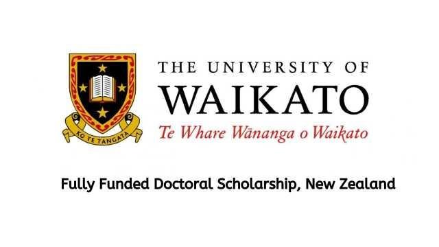University of Waikato PhD Scholarship 2021 | Study in New Zealand