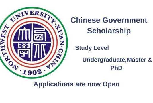 Northwest University CSC Scholarship