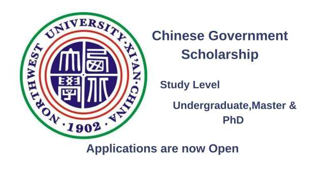 Northwest University CSC Scholarship 2021   Study in China