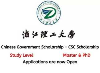 Zhejiang Sci-Tech University CSC Scholarship