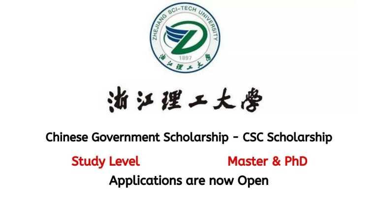 Zhejiang Sci-Tech University CSC Scholarship 2021   Study in China