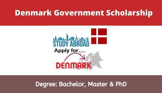 Denmark Government Scholarships 2021 For International Students
