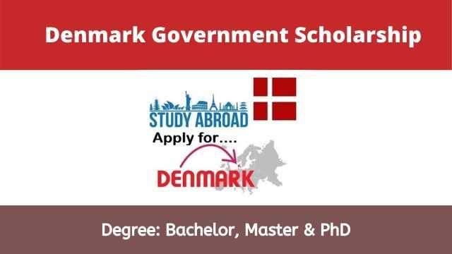 Denmark Government Scholarships 2021 For International Students