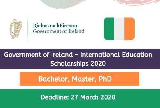 Government of Ireland International Education Scholarships