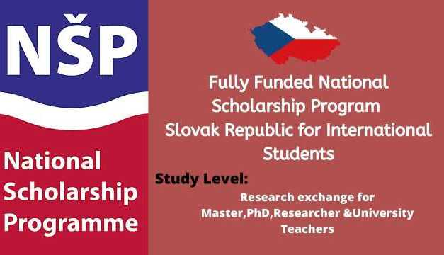 National Scholarship Program of the Slovak Republic For International Students
