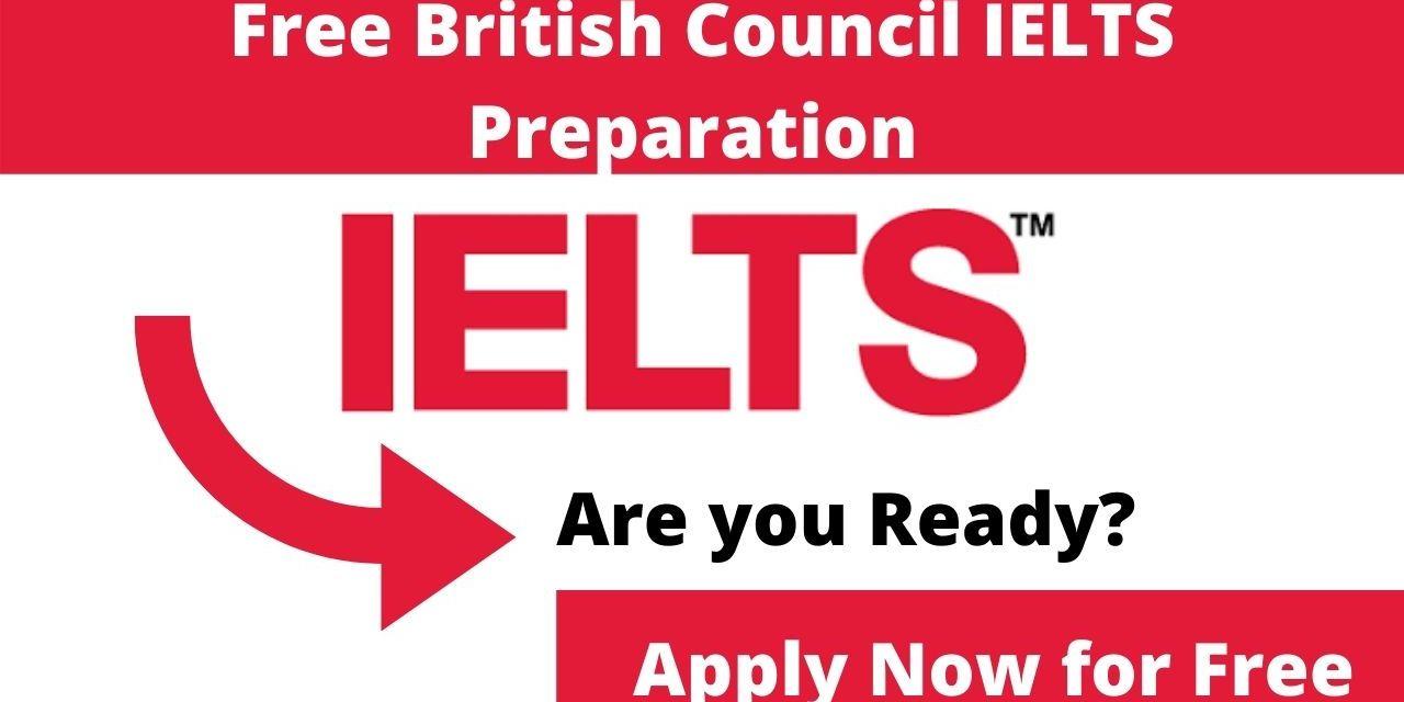 Free British Council IELTS Preparation Online Classes | Free IELTS Test