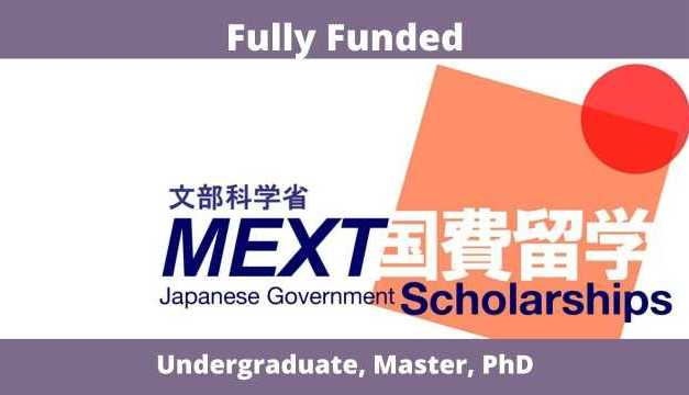 MEXT Japanese Government Scholarship 2022 |  Study in Japan
