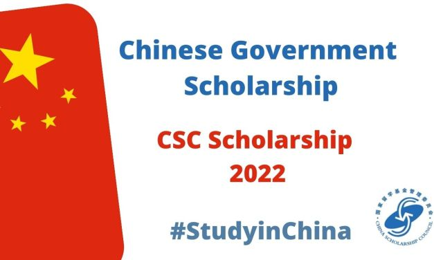 Chinese Government Scholarships 2022-2023 [CSC Scholarship]