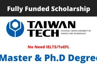 National Taiwan University of Science and Technology Scholarship