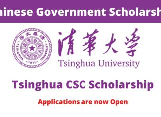 Tsinghua University CSC Scholarship