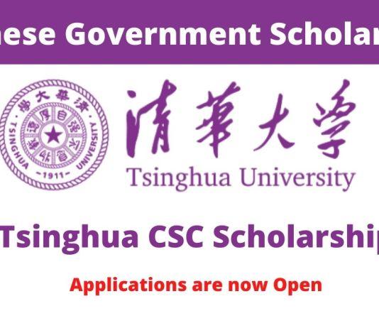 Tsinghua University CSC Scholarship
