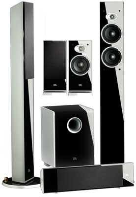 JBL Cinema Sound CS500 Cinepack speaker system - surround sound to go with your HD TV