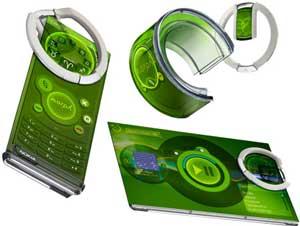 Nokia Morph concept mobile phone