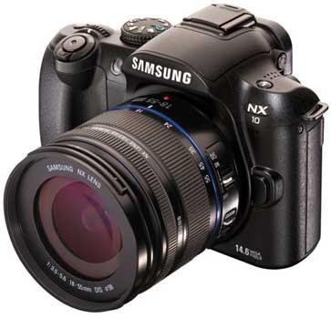 Samsung NX-10 digital camera